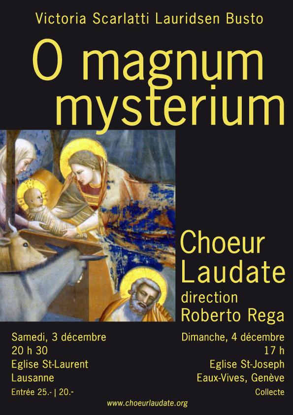 Affiche Concerts Noël 2011