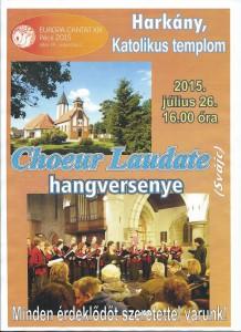 Concert Harkány, Hongrie - 26.07.2015